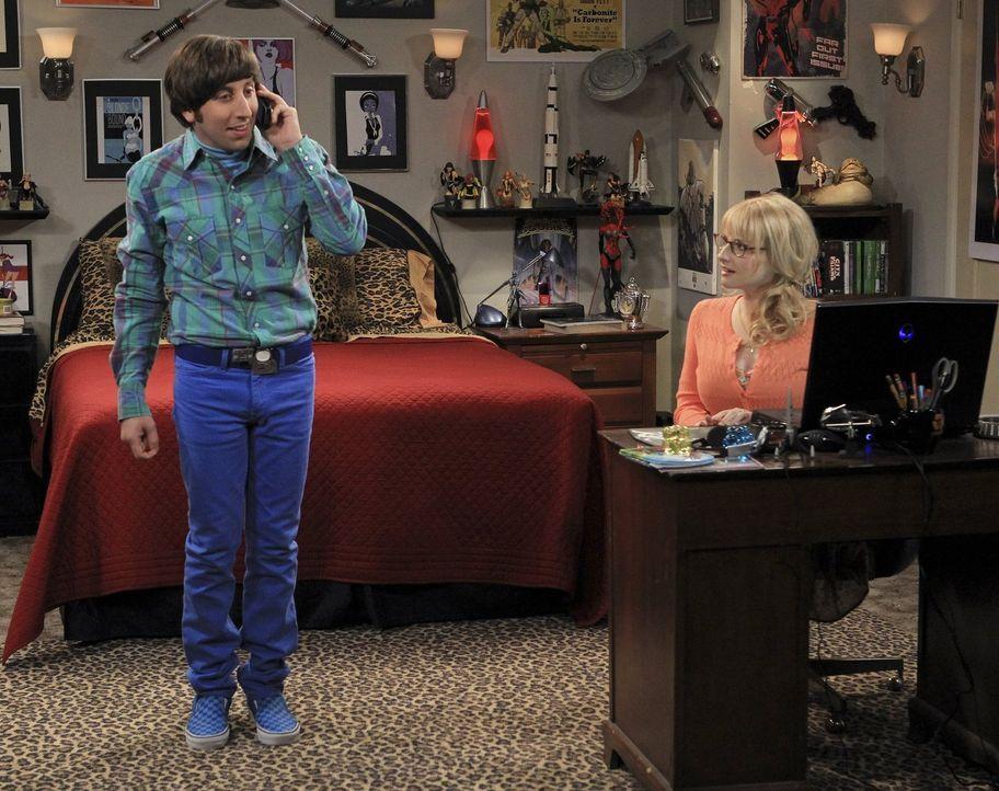 Während Amy das Tempo ihrer Beziehung zu Sheldon anziehen möchte, werden die Hochzeitspläne von Bernadette (Melissa Rauch, r.) und Howard (Simon Hel... - Bildquelle: Warner Bros. Television