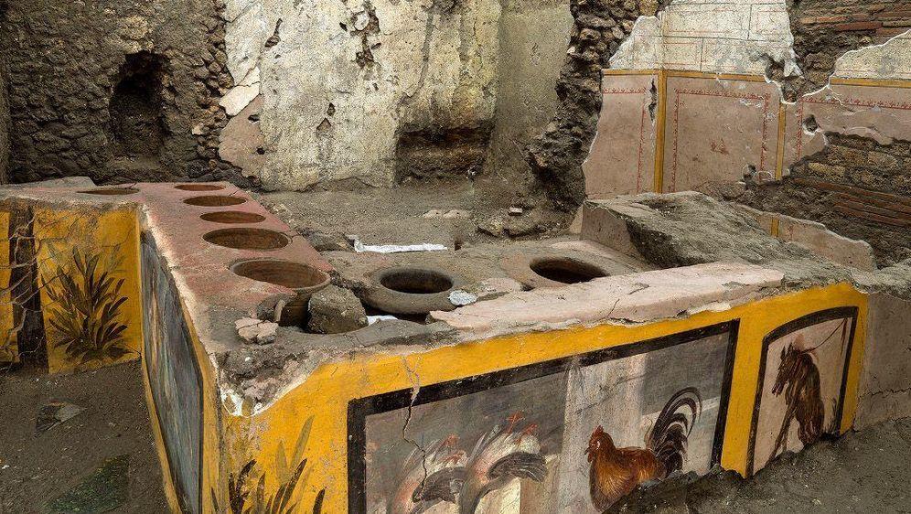 - Bildquelle: Luigi Spina/Parco Archeologico/dpa