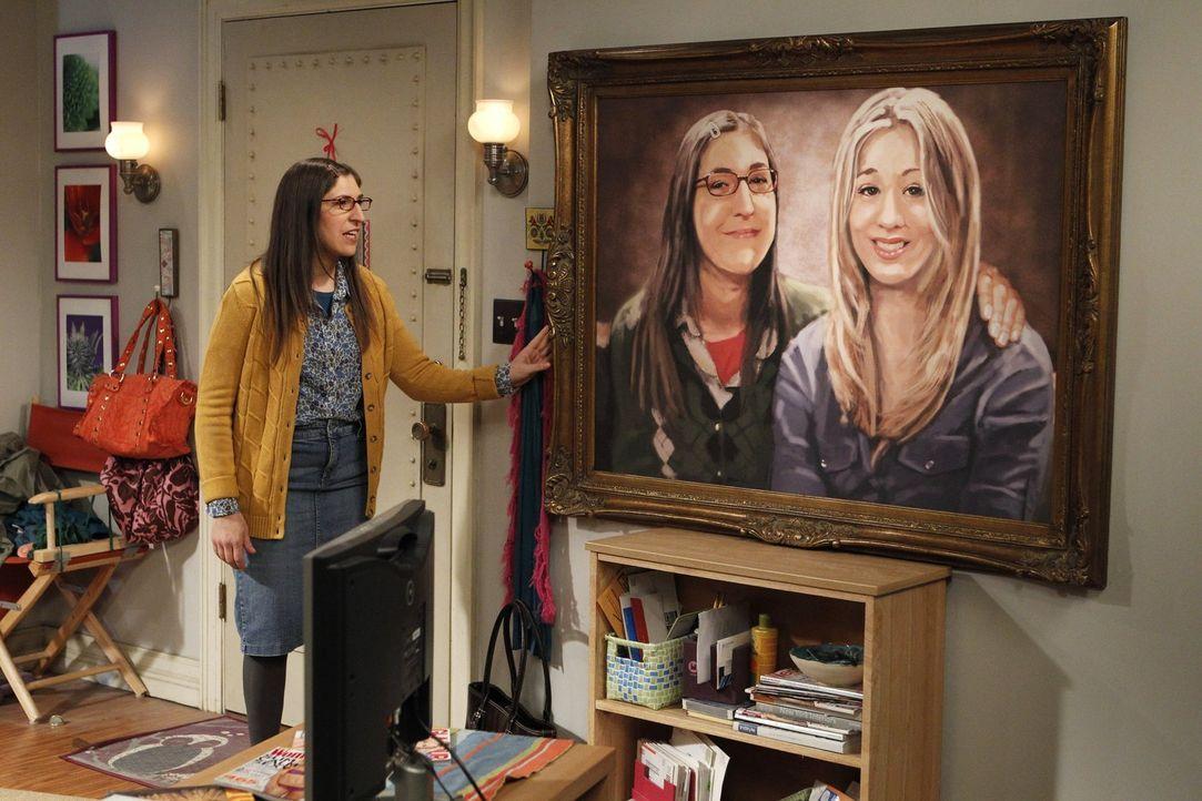 Hat für Penny ein ganz besonderes Geschenk: Amy (Mayim Bialik) ... - Bildquelle: Warner Bros. Television