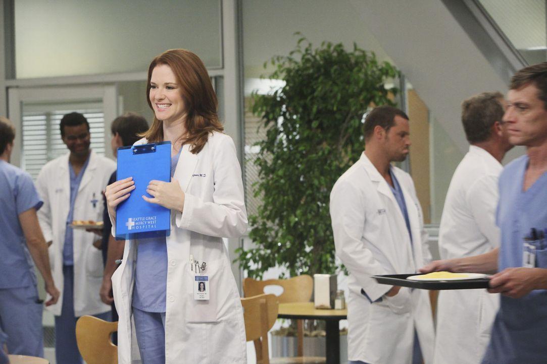 Ist völlig überfordert von ihrem neuen Job: April (Sarah Drew) ... - Bildquelle: ABC Studios