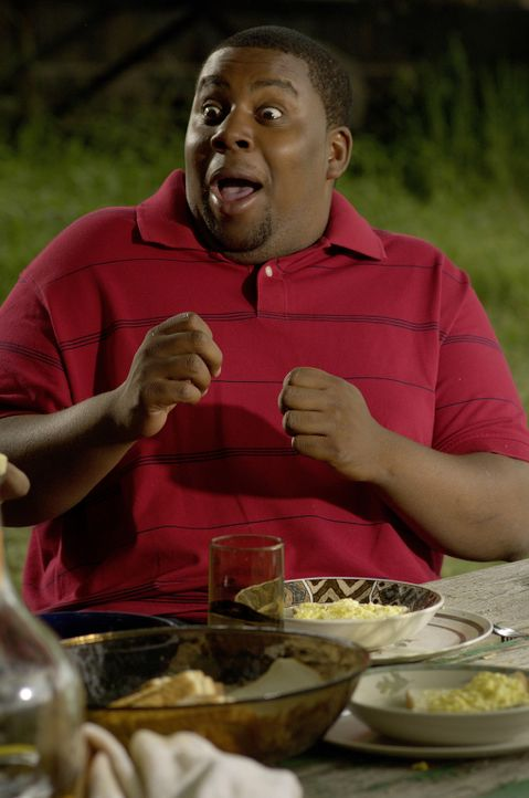 Eine Idee jagt die nächste: Wyatt (Kenan Thompson) ... - Bildquelle: 2007 Screen Gems, Inc. All Rights Reserved