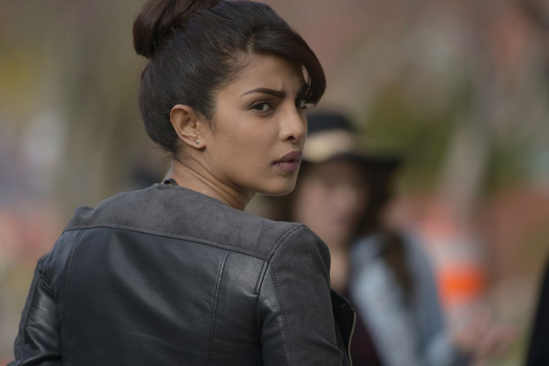 Kann Alex (Priyanka Chopra) ihre Unschuld beweisen? - Bildquelle: Philippe Bosse 2015 ABC Studios