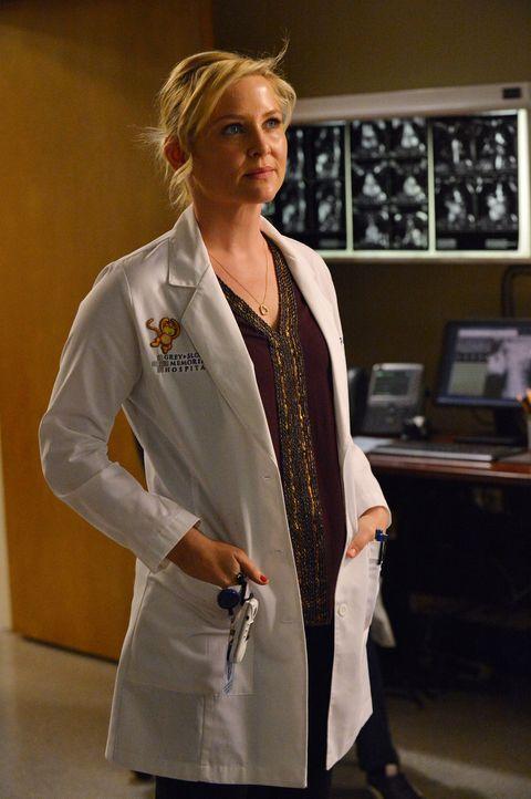 Arizona (Jessica Capshaw) bekommt eine neue Beinprothese, mit der sie sich zum ersten Mal seit langer Zeit selbstbewusster fühlt und High Heels tra... - Bildquelle: ABC Studios