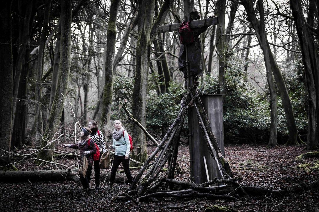 Fünf Freunde betreten bei Sonnenuntergang einen düsteren Wald. Sie haben keine Ahnung, was sie in dieser Nacht erwartet ... - Bildquelle: Willi Weber ProSieben