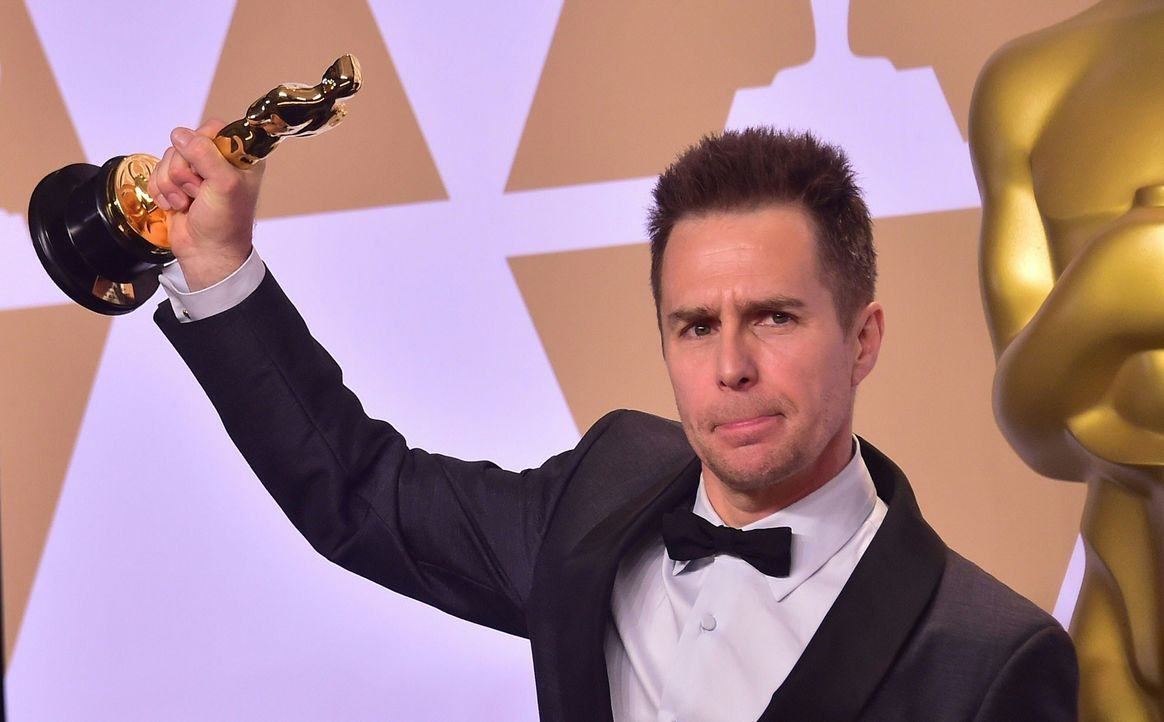 Sam-Rockwell-AFP - Bildquelle: AFP PHOTO / FREDERIC J. BROWN