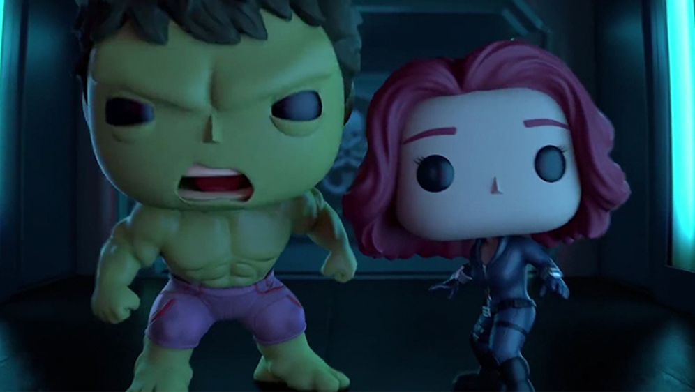Marvel Short: Black Widow & Hulk