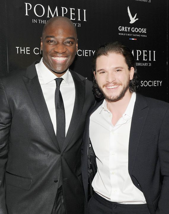 Kit-Harington-Adewale-Akinnuoye-Agbaje-14-02-12-getty-AFP - Bildquelle: getty-AFP