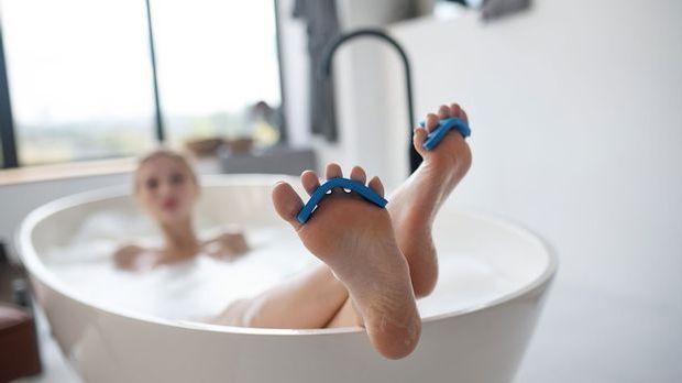 Ein entspanntes Bad ist wohltuend für Körper und Seele – und auch für deine F...