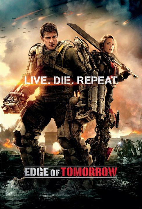 EDGE OF TOMORROW - Plakat - Bildquelle: Warner Bros. Television