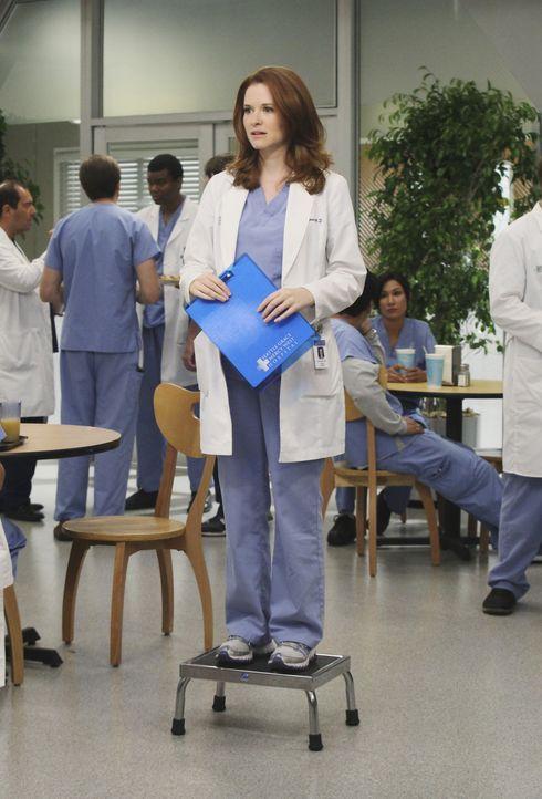 Ist von ihrem neuen Job als Stationsärztin vollkommen überfordert: April (Sarah Drew) ... - Bildquelle: ABC Studios