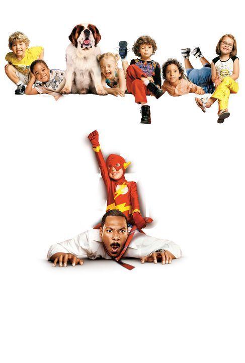 Der Kindergarten Daddy - Artwork: Bei seiner neuen Aufgabe als Nachwuchs-Kindergärtner hat Charlie (Eddie Murphy) jede Menge Arbeit ... - Bildquelle: 2004 Sony Pictures Television International. All Rights Reserved.