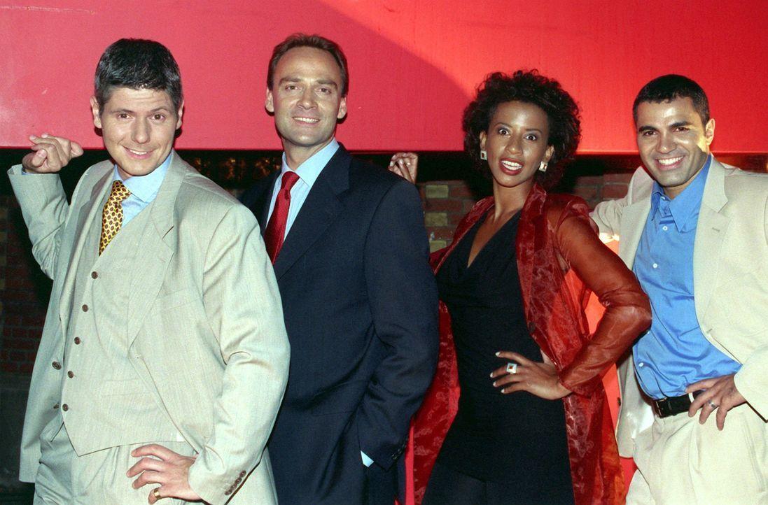 Marx, Fischer-Fabian, Abdallah und Kiesbauer (1998) - Bildquelle: dpa