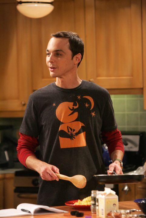 Als Sheldon (Jim Parsons) seinem neuen Chef auf einer Party sagt, dass er nichts von ihm hält, wird er gefeuert. Daraufhin nimmt er sich endlich Ze... - Bildquelle: Warner Bros. Television