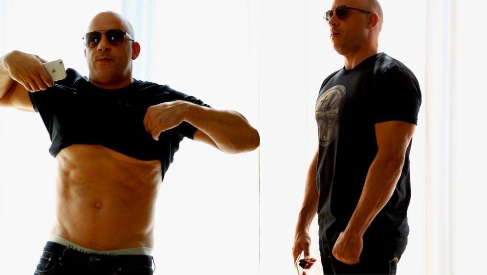 Vin Diesel Muskeln