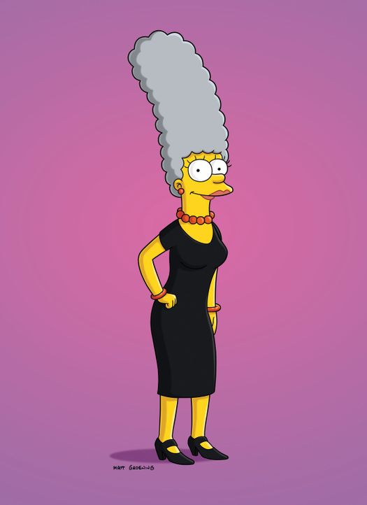 Marge simpson bride of frankenstein, blonde girl gy style