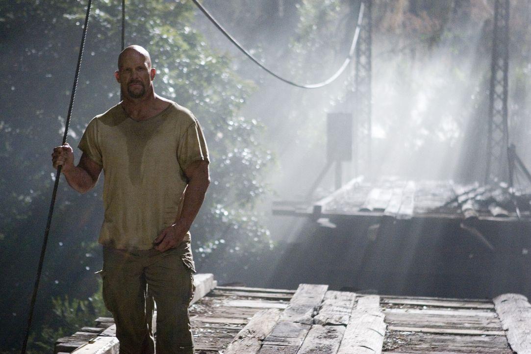 Gilt als Favorit in einer Show, in der zehn Schwerverbrecher auf einer Insel abgesetzt werden, um in einem Kampf auf Leben und Tod um ihre Freiheit... - Bildquelle: 2007 WWE Films, Inc. All Rights Reserved.