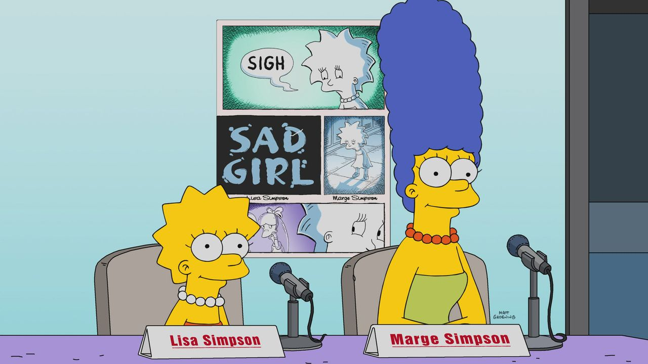Lisa (l.); Marge (r.) - Bildquelle: 2017-2018 Fox and its related entities.  All rights reserved.