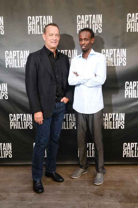 Barkhad-Abdi-Tom-Hanks-13-09-30-getty-AFP - Bildquelle: getty-AFP