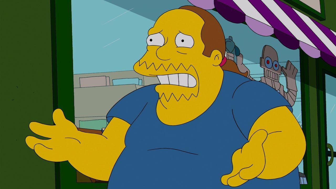 Der Comicverkäufer von Springfield ist verzweifelt: Endlich hat er in der bezaubernden Japanerin Kumiko die Frau gefunden, auf die er so lange gewar... - Bildquelle: 2013 Twentieth Century Fox Film Corporation. All rights reserved.