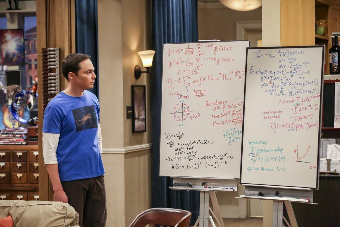 Sheldon (Jim Parsons) - Bildquelle: Michael Yarish Warner Bros./Michael Yarish
