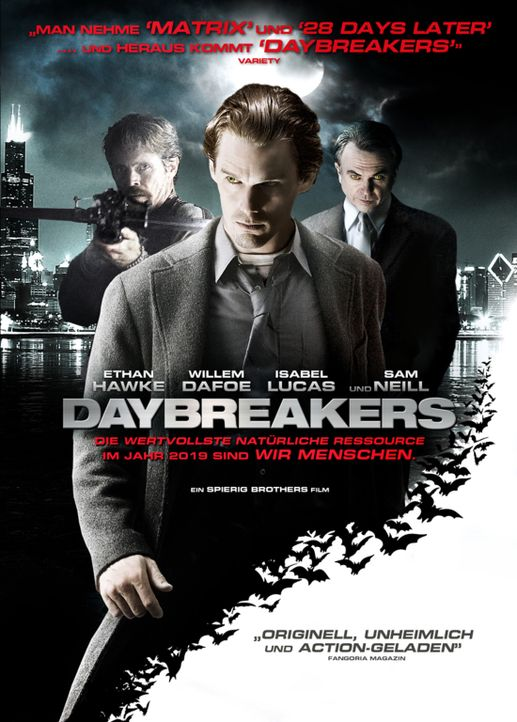 DAYBREAKERS - Plakatmotiv - Bildquelle: 2010 Tiberius Film GmbH & Co. KG