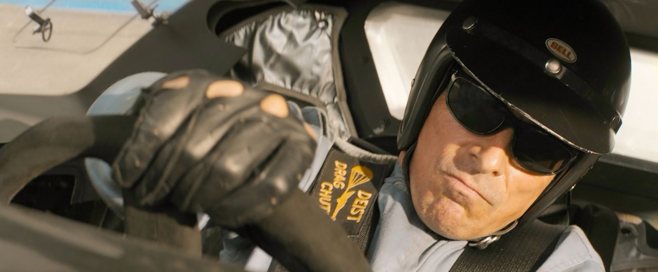 Ken Miles (Christian Bale) - Bildquelle: Merrick Morton 2019 Twentieth Century Fox Film Corporation. All rights reserved. / Merrick Morton