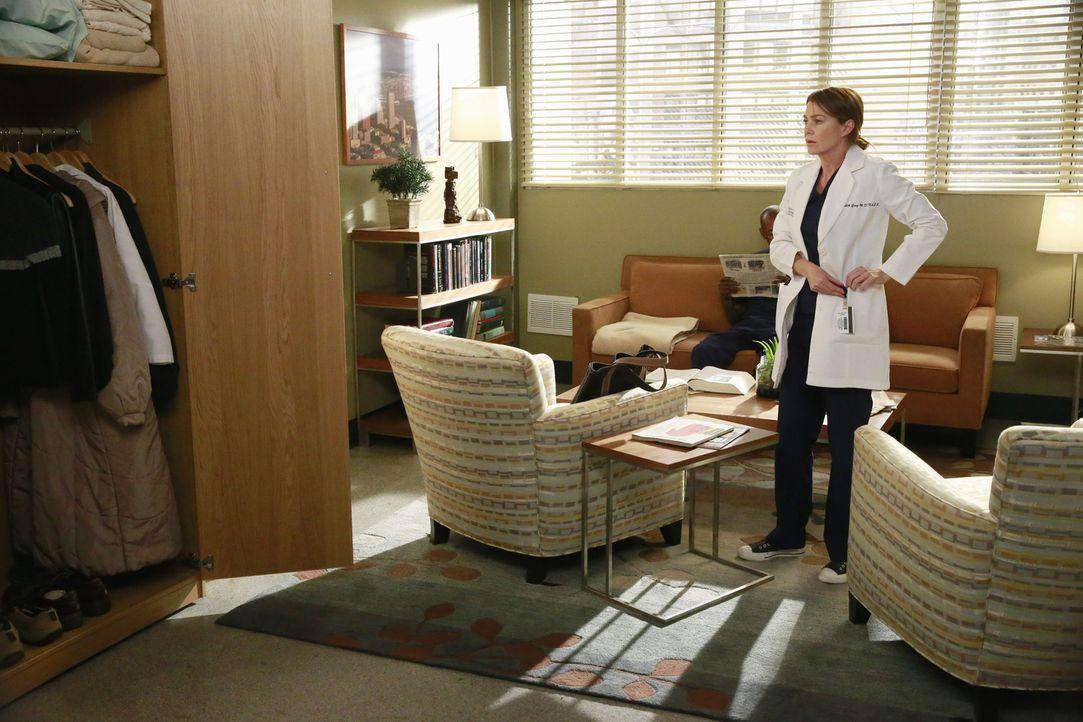 Nach alldem was geschehen ist, kehrt Meredith (Ellen Pompeo) wieder ins Krankenhaus zurück ... - Bildquelle: ABC Studios