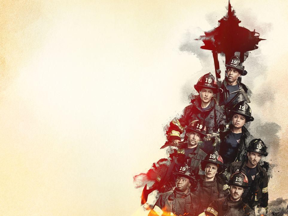 (4. Staffel) - Seattle Firefighters - Die jungen Helden - Artwork - Bildquelle: 2020 American Broadcasting Companies, Inc. All rights reserved.