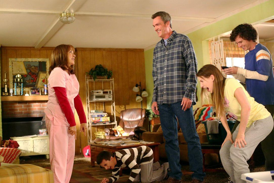 Frankie fühlt sich von ihrer Familie nicht genügend wertgeschätzt. Als sie e... - Bildquelle: Warner Brothers