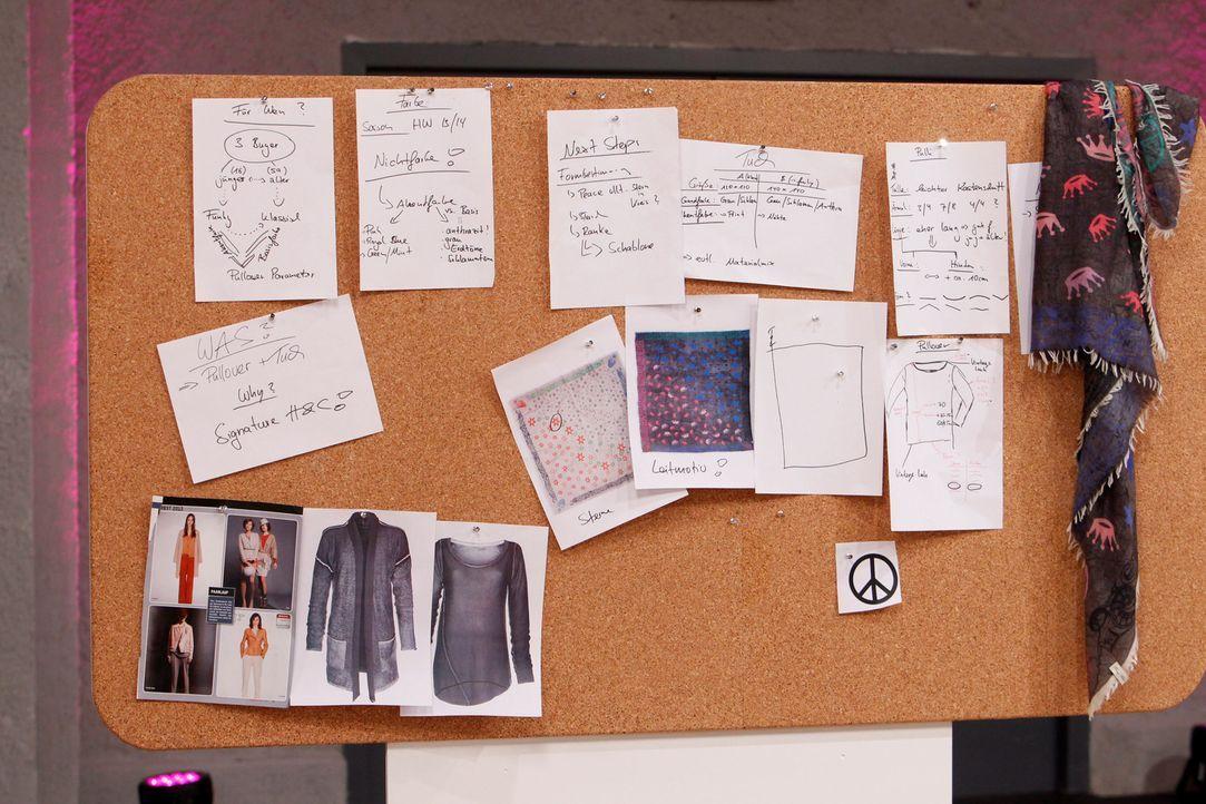 Die talentiertesten Designer Deutschlands entwerfen in jeder Folge eigene Modekreationen zu einem vorgegebenen Thema ... - Bildquelle: Richard Hübner ProSieben