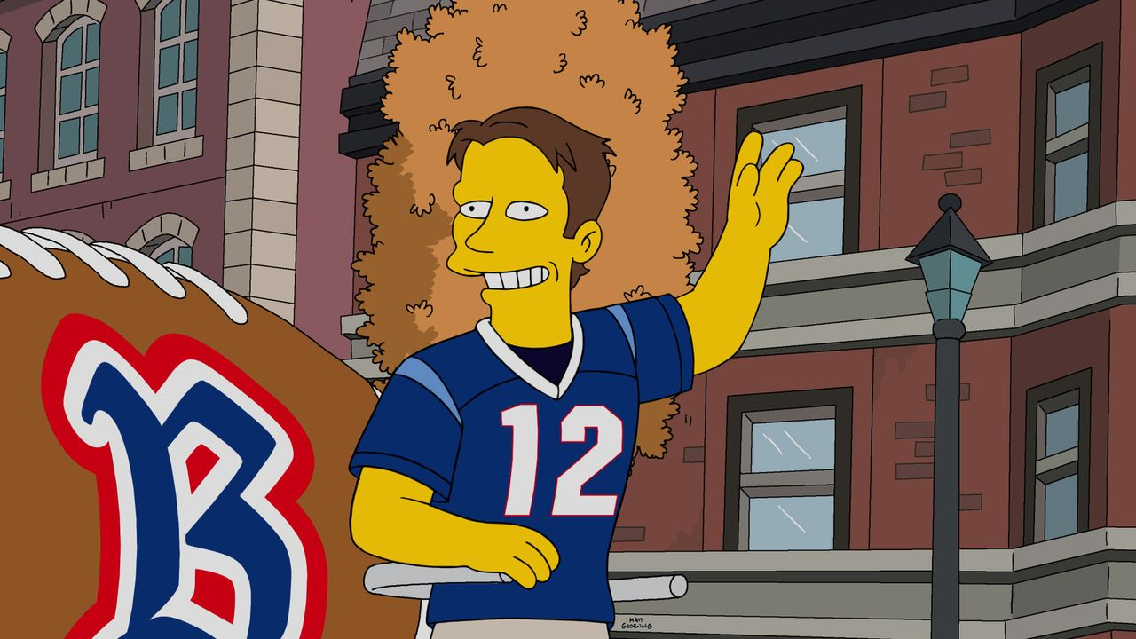 Als Homer erfährt, dass sein Sohn Bart die Konkurrenz des Springfields Team, die Boston Americans, heimlich angefeuert hat, versucht er alles, um se... - Bildquelle: 2016-2017 Fox and its related entities. All rights reserved.