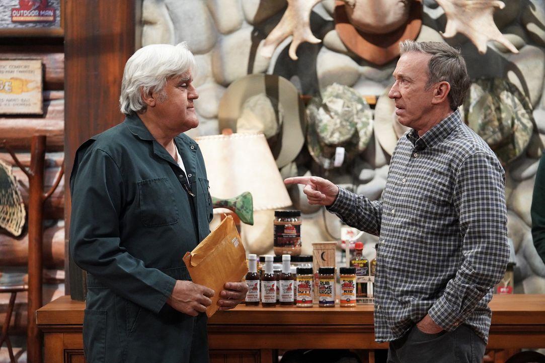 Joe (Jay Leno, l.); Mike Baxter (Tim Allen, r.) - Bildquelle: Michael Becker 2020 Fox Media LLC. / Michael Becker