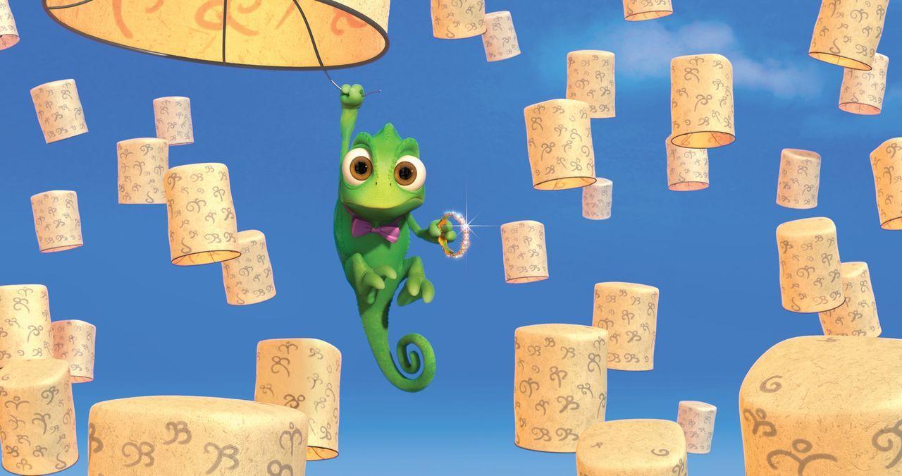 Pascal tut alles für seine Rapunzel, wirklich alles ... - Bildquelle: Disney.  All rights reserved