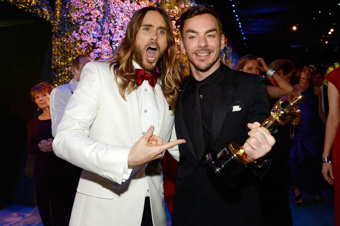 Oscars-Governors-Ball-Jared-Leto-Shannon-Leto-140302-getty-AFP - Bildquelle: getty-AFP