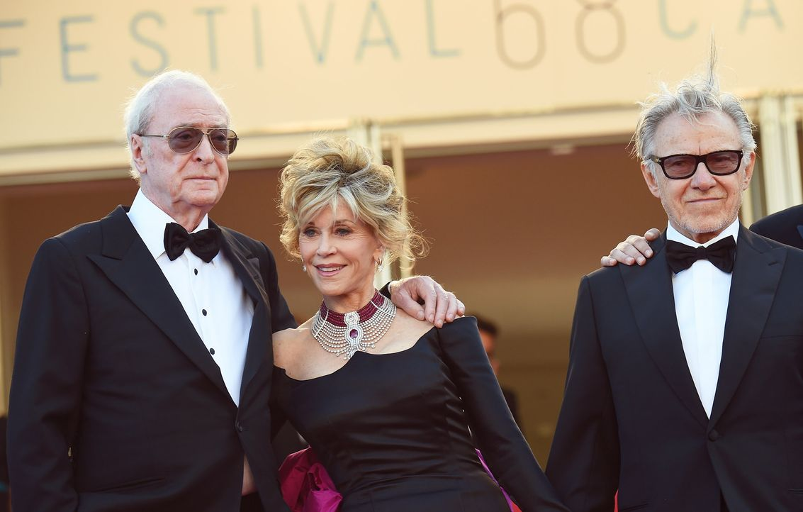Cannes-Film-Festival-Sir-Michael-Caine-Jane-Fonda-Harvey-Keitel-15-05-20-AFP - Bildquelle: AFP