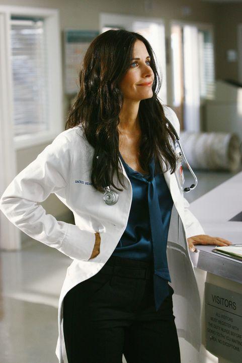 Die neue Ärztin Dr. Maddox (Courteney Cox) mischt im Krankenhaus mal richtig auf ... - Bildquelle: Touchstone Television