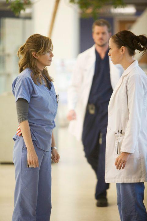 Grey's Anatomy - Mark und Lexie - 10: Meredith (Ellen Pompeo), Mark (Eric Dane), Lexie (Chyler Leigh - Bildquelle: ABC Studios