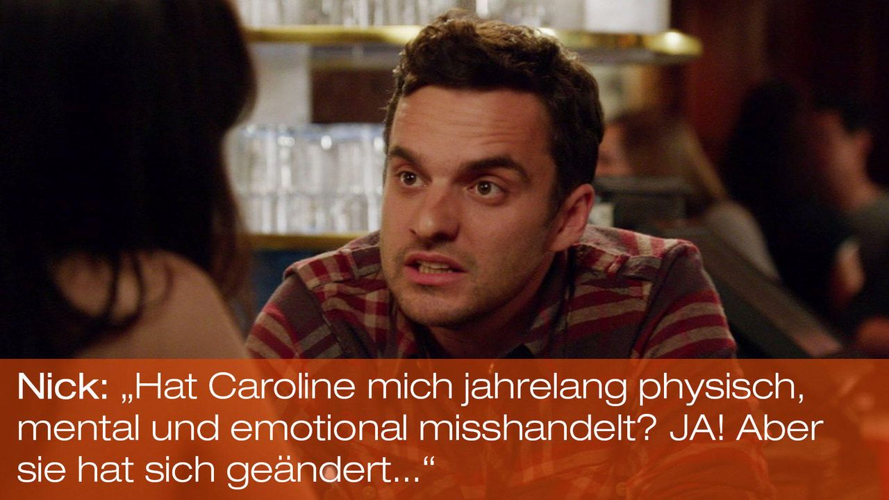 New Girl - Zitate - Staffel 1 Folge 23: 04 - Nick (Jake Johnson) - Bildquelle: 20th Century Fox