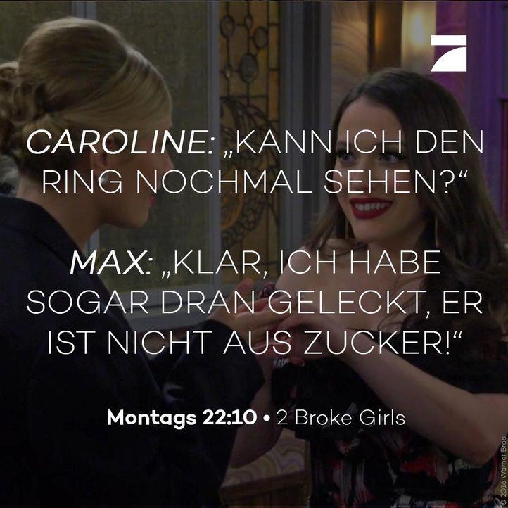 Caroline und Max Staffel 6 Episode 22 - Bildquelle: Warner Bros. Television
