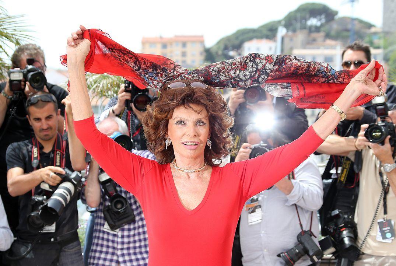 Cannes-Filmfestival-Sophia-Loren-140521-1-AFP - Bildquelle: AFP