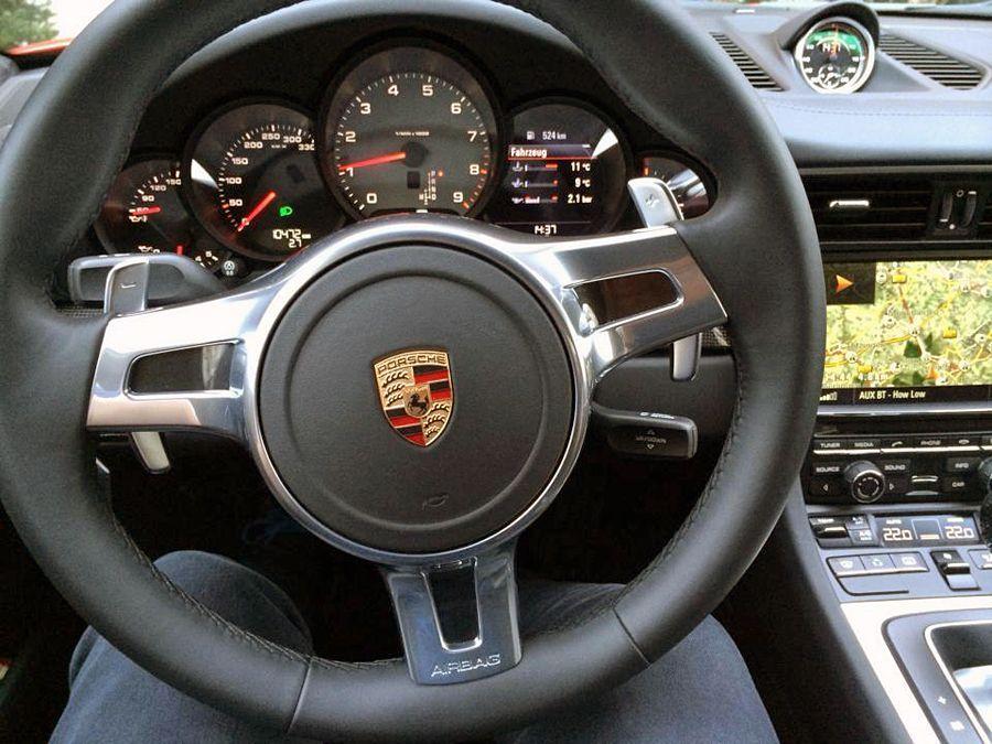 Stars in Porsches