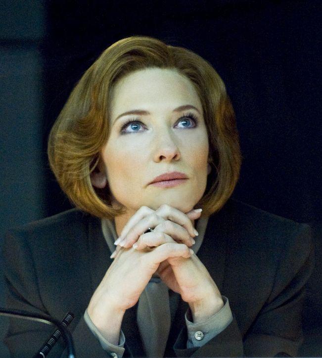 Seit 16 Jahren wartet die CIA-Agentin Marissa Wiegler (Cate Blanchett) darauf, Hanna und ihren Vater vor die Flinte zu kriegen. Eines Tages ertönt... - Bildquelle: 2011 Focus Features LLC. All Rights Reserved.