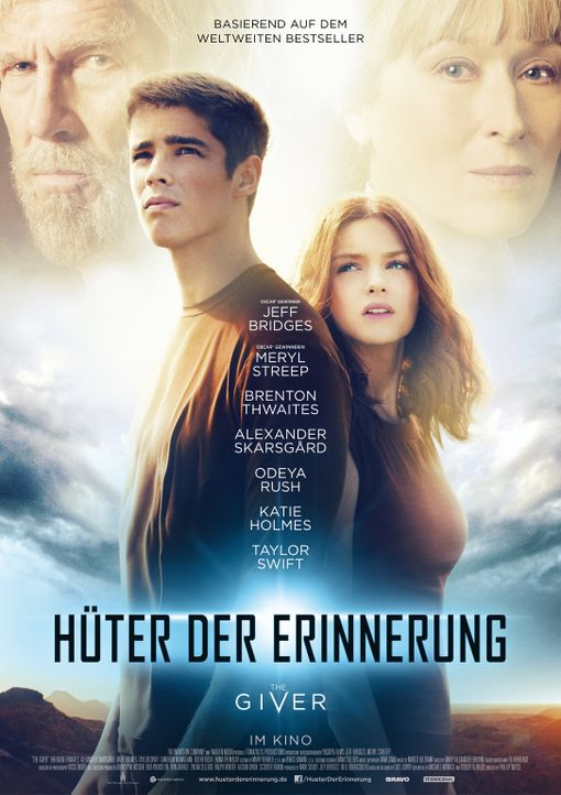 Hüter der Erinnerung - The Giver - Plakatmotiv - Bildquelle: 2014 The Weinstein Company LLC. All Rights Reserved.