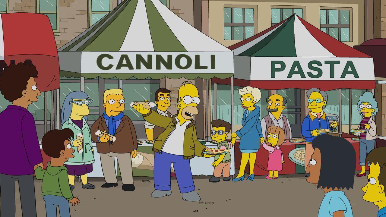 Homer (Mitte) - Bildquelle: 2019-2020 Twentieth Century Fox Film Corporation.  All rights reserved.