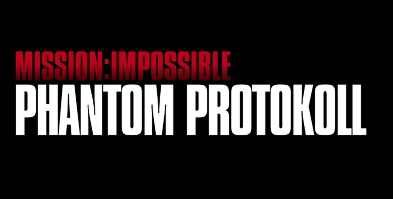 """Mission Impossible - Phantom Protokoll"" -Logo - Bildquelle: 2011 Paramount Pictures.  All Rights Reserved."