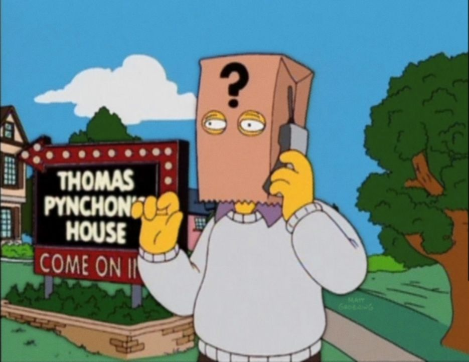 Thomas Pynchon - Bildquelle: 2003 Fox and its related entities.  All rights reserved.