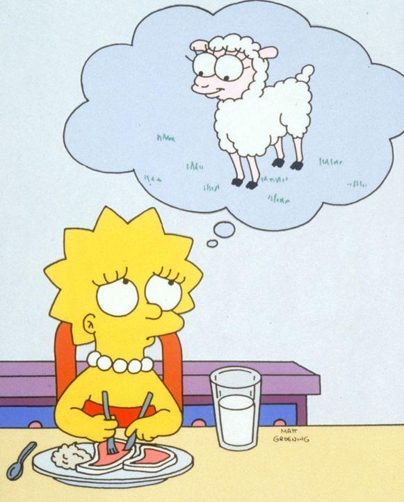 Ein schwerer Schlag für die Familie: Lisa ist entschlossen, ihre Familie zu verlassen - und zwar aus vegetarischen Gründen: Da das Mädchen überz... - Bildquelle: 1995 Twentieth Century Fox Film Corporation. All rights reserved.