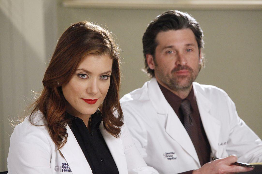 Wären Addison (Kate Walsh, l.) und Derek (Patrick Dempsey, r.) immer noch glücklich verheiratet, wenn das Schicksal einen ganz anderen Lauf genomm... - Bildquelle: ABC Studios
