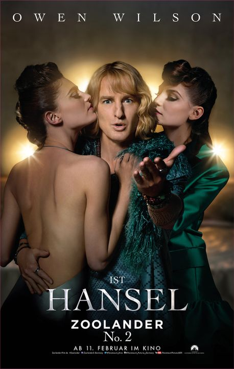 Zoolander 2 - Hansel - Bildquelle: Paramount Pictures Germany
