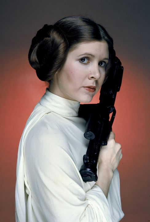 "Prinzessin Leia (Carrie Fisher) in ""Star Wars"" (1977-2019) - Bildquelle: picture alliance / Captital Pictures 